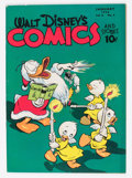 Golden Age (1938-1955):Cartoon Character, Walt Disney's Comics and Stories #64 (Dell, 1946) Condition:FN/VF....