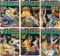 Wu Fang Group of 6 (Popular, 1935-36) Condition: Average GD/VG.... (Total: 6 Items)