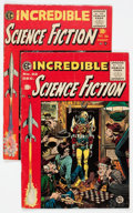 Golden Age (1938-1955):Science Fiction, Incredible Science Fiction #30 and 32 Group (EC, 1955) Condition:Average VG+.... (Total: 2 Comic Books)