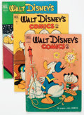 Golden Age (1938-1955):Cartoon Character, Walt Disney's Comics and Stories Group of 11 (Dell, 1951-53)Condition: Average VG-.... (Total: 11 Comic Books)
