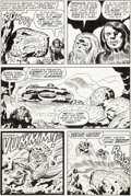 Original Comic Art:Panel Pages, Jack Kirby and Mike Royer Devil Dinosaur #4 Story Page 6Original Art (Marvel, 1978)....
