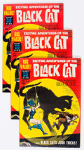 Silver Age (1956-1969):Superhero, Black Cat Mystery #65 File Copies Group of 3 (Harvey, 1963) Condition: Average VF+.... (Total: 3 Comic Books)