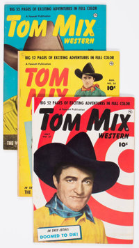 Tom Mix Western Group of 22 (Fawcett Publications, 1950-52) Condition: Average FN-.... (Total: 22 Comic Books)