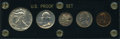 Proof Sets, Uncertified 1942 Proof Set.... (Total: 5 coins)
