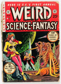 Golden Age (1938-1955):Science Fiction, Weird Science-Fantasy Annual #1 (EC, 1952) Condition: GD....
