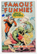 Golden Age (1938-1955):Science Fiction, Famous Funnies #210 (Eastern Color, 1954) Condition: GD+....