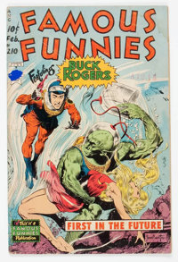 Famous Funnies #210 (Eastern Color, 1954) Condition: GD+