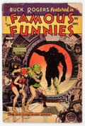 Golden Age (1938-1955):Science Fiction, Famous Funnies #213 (Eastern Color, 1954) Condition: FR....