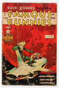 Golden Age (1938-1955):Science Fiction, Famous Funnies #214 (Eastern Color, 1954) Condition: GD....