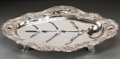 Silver Holloware, American:Trays, A Gorham Silver Meat Serving Tray with Tree Well, Providence, RhodeIsland, early 20th century. Marks: (lion-anchor-G), ST...