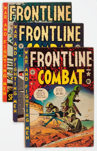Frontline Combat Group of 5 (EC, 1951-53) Condition: Average VG.... (Total: 5 Comic Books)