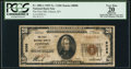 National Bank Notes:Kentucky, Clinton, KY - $20 1929 Ty. 1 The First NB Ch. # 9098. ...