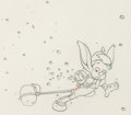 Animation Art:Production Drawing, Pinocchio Animation Drawing (Walt Disney, 1940).. ...