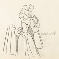 Sleeping Beauty Briar Rose and Mock Prince Animation Drawing Group of 2 (Walt Disney, 1959). ... (Total: 2 )