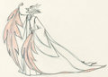 Animation Art:Production Drawing, Sleeping Beauty Maleficent Pan Animation Drawing (Walt Disney, 1959).. ...
