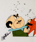 Animation Art:Production Cel, The Jetsons Production Cel Signed by Mel Blanc(Hanna-Barbera, c. 1980s)....
