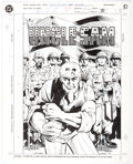Original Comic Art:Splash Pages, David A. Williams and Karl Kesel Who's Who in the DCUniverse #16 Page 51 Uncle Sam Original Pin-Up Art (DC,1992)...