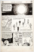 Original Comic Art:Panel Pages, Murphy Anderson Strange Adventures #144 Page 2 Original Art (DC,1962)....