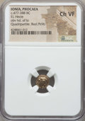 Ancients:Greek, Ancients: IONIA. Phocaea. Ca. 477-388 BC. EL hecte. NGC ChoiceVF....