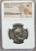 Ancients:Roman Provincial , Ancients: JUDAEA. Caesarea Maritima. Caracalla (AD 198-217). BItetradrachm. NGC VF....