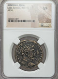 Ancients:Roman Provincial , Ancients: BITHYNIA. Tium. Septimius Severus (AD 193-211). AE 30 mm.NGC VF....
