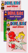 Bronze Age (1970-1979):Cartoon Character, Devil Kids Starring Hot Stuff File Copies Long Box Group (Harvey, 1968-81) Condition: Average NM-....