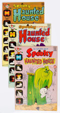 Bronze Age (1970-1979):Humor, Spooky Haunted House File Copies Long Box Group (Harvey, 1972-75) Condition: Average VF/NM....