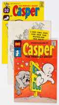 Silver Age (1956-1969):Humor, Casper the Friendly Ghost/Friendly Ghost Casper File Copies - Long Box Group (Harvey, 1950s-70s) Condition: Average VF/NM....