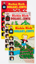 Bronze Age (1970-1979):Humor, Richie Rich Dollars and Cents File Copies - Long Box Group (Harvey, 1969-82) Condition: Average NM-....