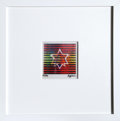 Prints:Contemporary, Yaacov Agam (Israeli, b. 1928). Two Stars (Small).Agamograph. 4-1/4 x 4-1/2 inches (10.9 x 11.4 cm) (image). Ed.95/99 ...