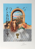 Prints:Contemporary, Salvador Dalí (Spanish, 1904-1989). Gateway to the NewWorld, from the Dali Discovers America portfolio, 1979.Litho...