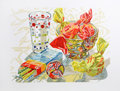 Prints:Contemporary, Janet Fish (American, b. 1938). Candy, 1996. Lithograph incolors on wove paper. 17-7/8 x 24 inche (image). 24-1/2 x 32 ...