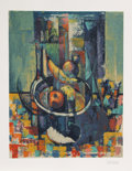 Prints:Contemporary, Bob Guccione (American, 1930-2010). Still Life, 1990.Lithograph in colors on Arches paper. 28-1/2 x 22-1/4 inches(imag...