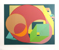 Prints:Contemporary, Al Held (American, 1928-2005). Scholes I, 1991. Silkscreenin colors. 23-1/4 x 29 inches (image). 29 x 34 inches (sheet)...