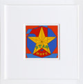Prints:Contemporary, Robert Indiana (American, b. 1928). Star of Hope, 1972.Enamel on metal. 12 x 12 inches (30.5 x 30.5 cm). Stamped signat...
