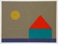 Prints:Contemporary, Kyohei Inukai (American, 1913-1985). Under the Sun, circa1978. Serigraph in colors on wove paper. 24 x 32 inches (image...