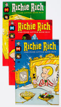 Silver Age (1956-1969):Humor, Richie Rich File Copies Short Box Group (Harvey, 1968-70) Condition: Average VF/NM....