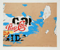 Prints:Contemporary, Mimmo Domenico Rotella (Italian, 1918-2006). Pepsi, 1980.Serigraph in colors. 20-1/8 x 24-1/2 inches (image). 23 x 30 i...