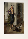 Prints:Contemporary, Dorothea Tanning (American, 1910-2012). Birthday (Self Portraitat age 30, 1942), circa 1970. Lithograph in colors on Ar...
