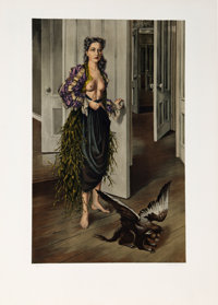 Dorothea Tanning (American, 1910-2012) Birthday (Self Portrait at age 30, 1942), circa 1970 Lithogra