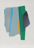 Prints:Contemporary, Larry Zox (American, 1936-2006). Sounds Cut I, 1980.Serigraph in colors on wove paper. 42-1/4 x 30 inches (sheet). Ed....