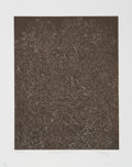 Prints:Contemporary, Mark Tobey (American, 1890-1976). Psaltery, 1st Form, 1974.Etching on BFK Rives paper. 13-7/8 x 10-7/8 inches (image). ...