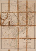 Miscellaneous:Maps, K. W. Presler [sic] & V. Völker. Map of Texas. ... (Total: 2 Items)
