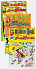 Bronze Age (1970-1979):Cartoon Character, Richie Rich and Jackie Jokers File Copies Long Box Group (Harvey,1976-82) Condition: Average NM-....