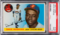 Baseball Cards:Singles (1950-1959), 1955 Topps Dave Hoskins #133 PSA Mint 9 - Pop Three, One Higher....