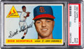 Baseball Cards:Singles (1950-1959), 1955 Topps Dick Schofield #143 PSA Mint 9 - Only One Higher....