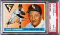 Baseball Cards:Singles (1950-1959), 1955 Topps Dick Donovan #146 PSA Gem Mint 10 - Pop Two!...