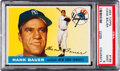 Baseball Cards:Singles (1950-1959), 1955 Topps Hank Bauer #166 PSA Mint 9 - None Higher....