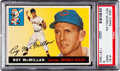 Baseball Cards:Singles (1950-1959), 1955 Topps Roy McMillan #181 PSA Mint 9 - Pop Three, One Higher....