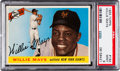 Baseball Cards:Singles (1950-1959), 1955 Topps Willie Mays #194 PSA Mint 9 - None Higher....